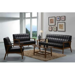 George Oliver Bianco Configurable Living Room Set