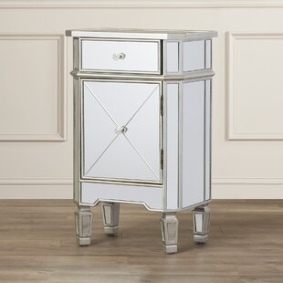 Hall 1 Drawer Mirrored Cabinet by Willa Arlo Interiors