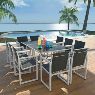 Banda 10 Seater Dining Set By Sol 72 Outdoor