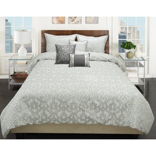 House of Hampton Mullinix 5 Piece Comforter Set