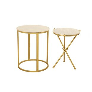 Aula 2 Piece End Table Set