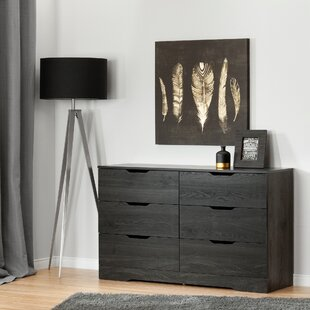 Holland 6 Drawer Double Dresser