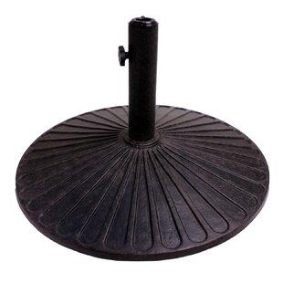 Coneflower Cast Iron Free standing Umbrella Base