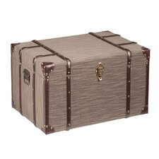 Barium Linen File Storage Trunk by Darby Home Co