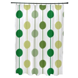 Ivy Bronx Leal Brady Beads Shower Curtain