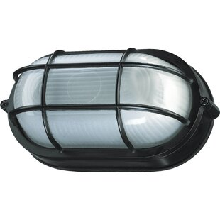 Gendron 1-Light Outdoor Bulkhead Light