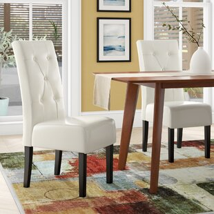 Corinne Upholstered Dining Chair (Set of 2) Latitude Run