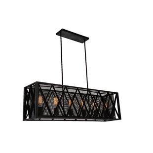 CWI Lighting Tapedia 6-Light Kitchen Island Pendant