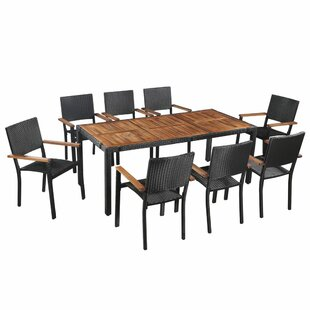 Forrester 8 Seater Dining Set By Sol 72 Outdoor