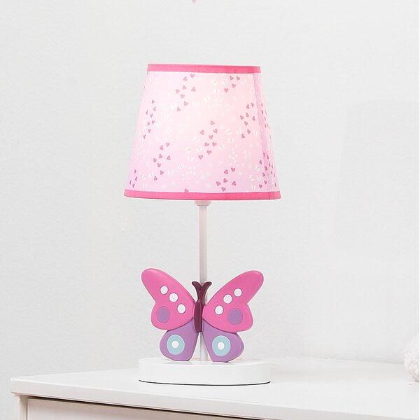 Bedtime Originals Magic Garden Butterfly 15 Table Lamp Reviews Wayfair