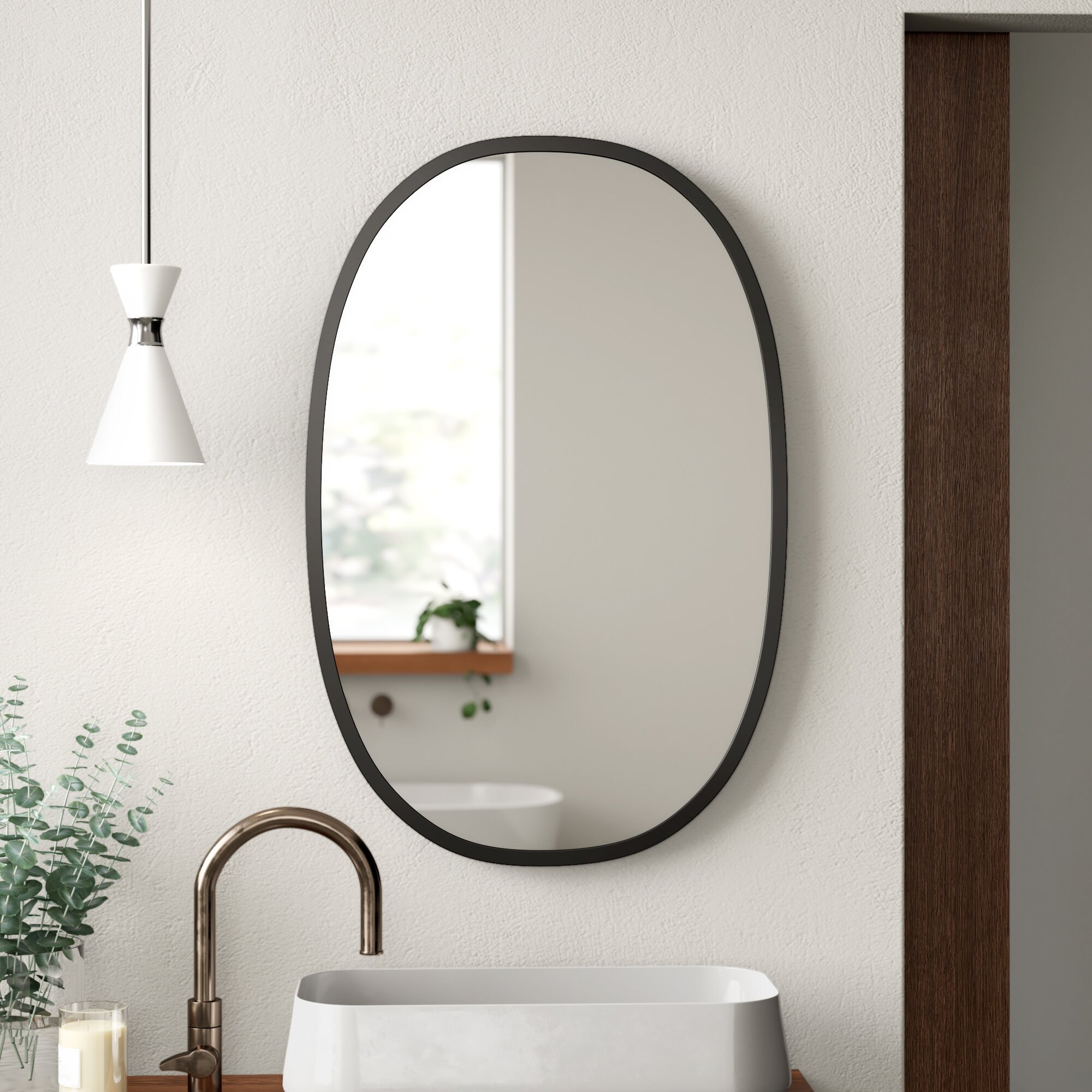 Hub Modern And Contemporary Accent Mirror Reviews Allmodern