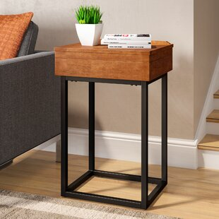 Belle End Table with Storage
