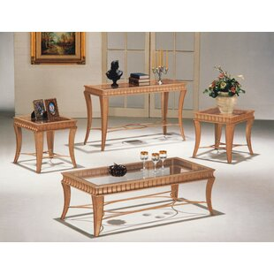 Darby Home Co Bristoly 4 Piece Coffee Table Set