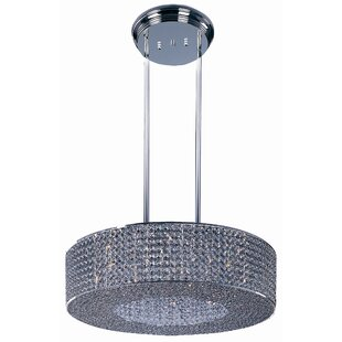 Farley Hall 16-Light Crystal Chandelier b..