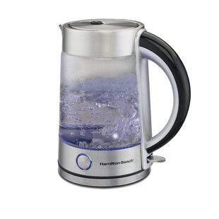 1.7 Qt Modern Glass Electric Tea Kettle