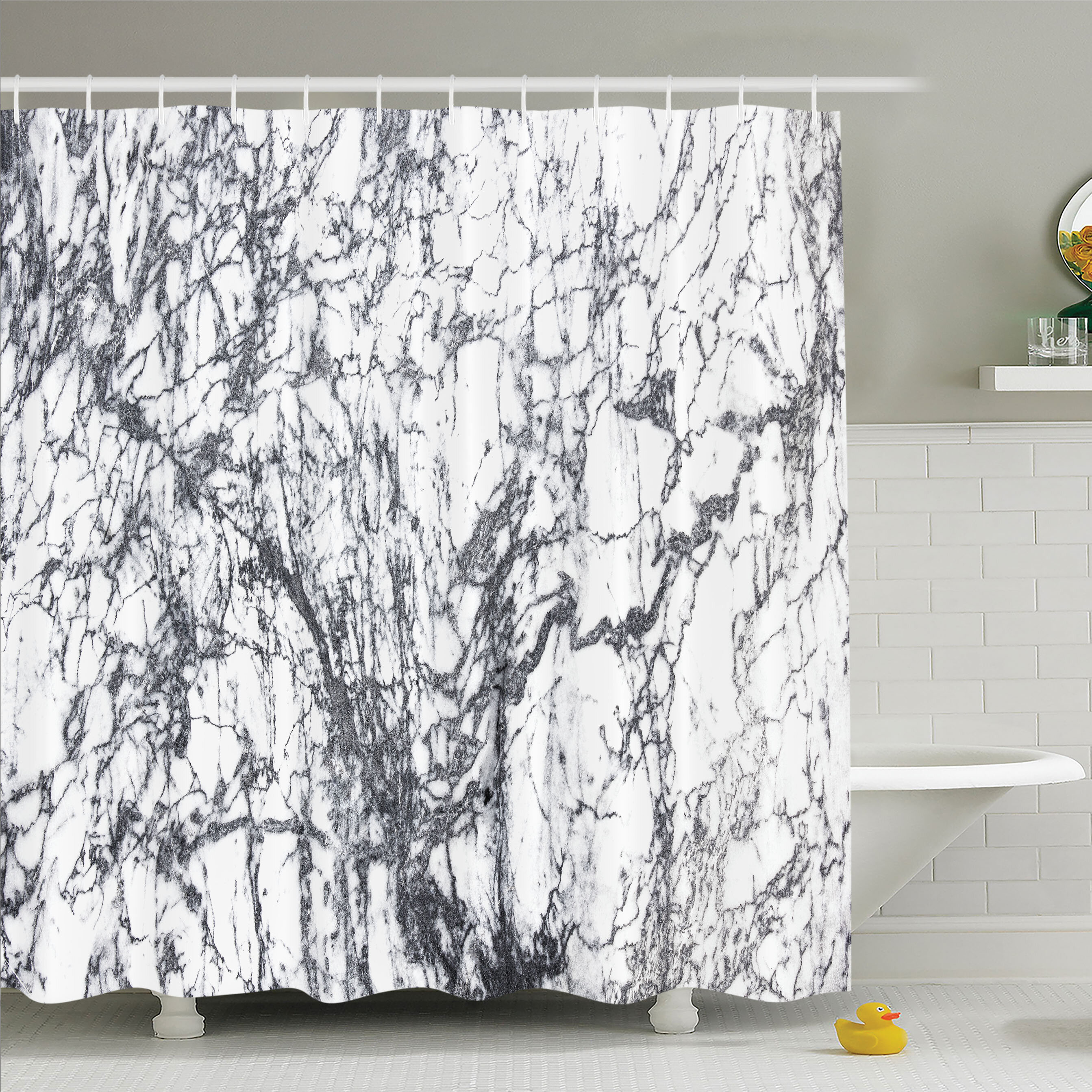 East Urban Home Murky Marble Rock Motifs With Dynamic Fractal