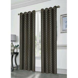 Metallic Gold Curtains