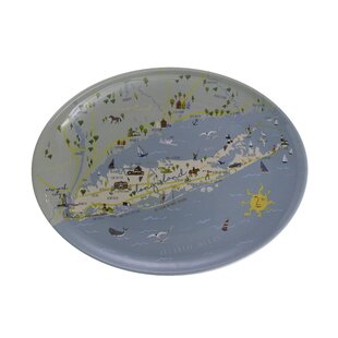 Saffron Melamine Platter