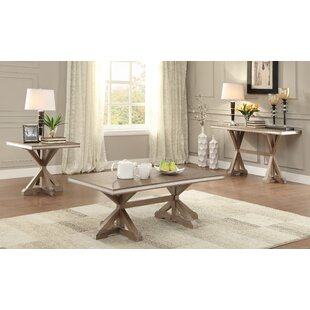 Shoshoni 3 Piece Coffee Table Set