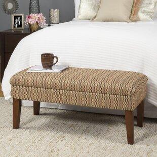 Schexnayder Decorative One Seat Bench with Storage by Winston Porter