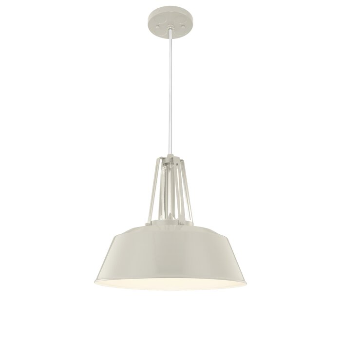 Sarah 1-Light Single Dome Pendant