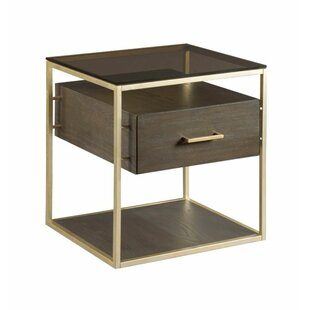 Ansel End Table with Storage