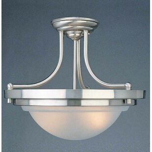 Volume Lighting 2-Light Bowl Pendant