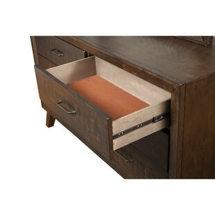 Corrigan Studio Easterly 6 Drawer Double Dre..