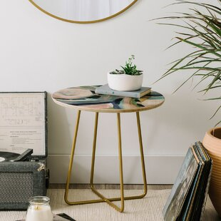 East Urban Home Laura Fedorowicz Momentarily Wise End Table