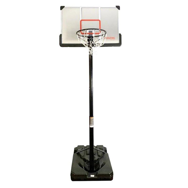 Amazingforless Pro-Court 120 Inch Outdoor Basketball Hoop