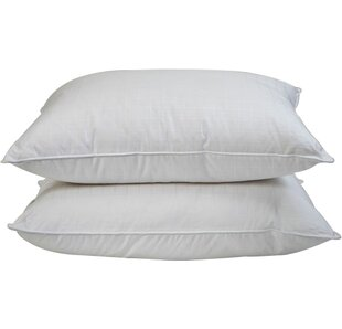 Firm Gel Fiber Pillow (Set of 2)