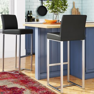 Orville 30 Bar Stool (Set of 2) Wade Logan
