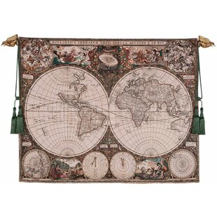 World map wall hanging wayfair world map wall tapestry gumiabroncs Gallery