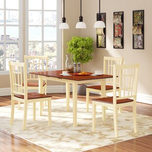 Phoenixville 5 Piece Dining Set by Three Posts #2
