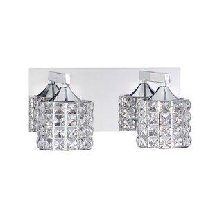 Kendal Lighting Lustra 2-Light Vanity Light