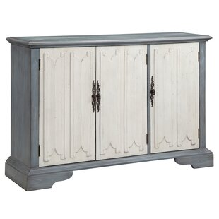 Louviere 3 Door Accent Cabinet