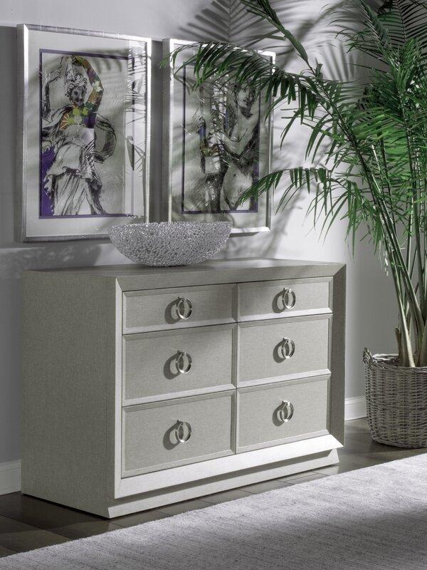 Artistica Home Zeitgeist 6 Drawer Double Dresser
