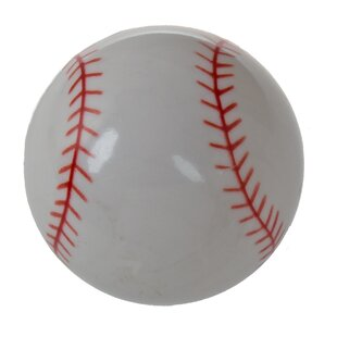 Best Reviews Baseball Novelty Knob (Set of 10) By GlideRite Hardware