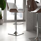 Killam Adjustable Height Swivel Bar Stool by Upper Square™