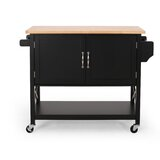 Jaymee Kitchen Cart by Ebern Designs