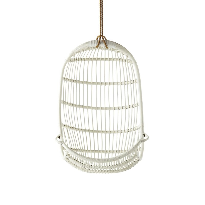 Riviera Rattan Hanging Porch Swing