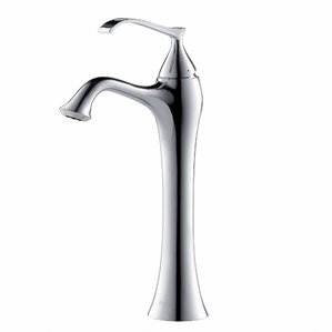 ventus single hole single handle bathroom faucet with drain assembly