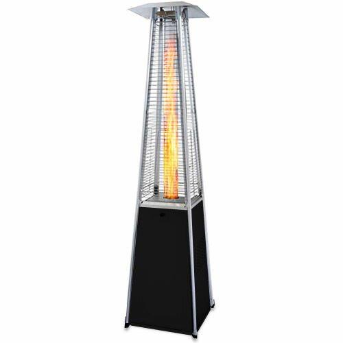 Dancing Flames Pyramid Outdoor 34,000 BTU Propane Patio Heater