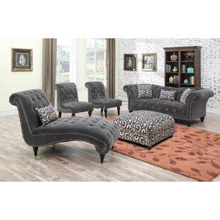 Willa Arlo Interiors Hendrix Configurable Living Room Set