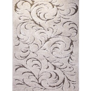 Goldsmith Traditional Ivory Area Rug