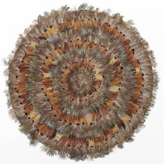9325b9adaec786 Mullica Pheasant Park Round Decorative 16