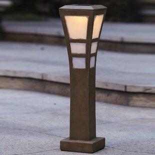 Winsome House Solar 5-Light Bollard Light
