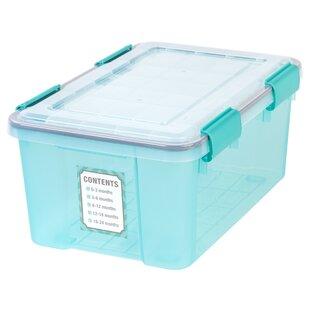 Storage Plastic Tubs & Totes (Set of 6)