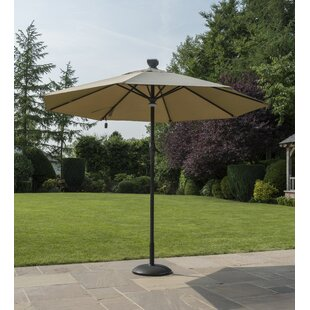 3m Traditional Parasol With Lights Image