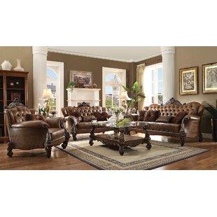 Price Check Bermuda 3 Piece Living Room Set by Astoria Grand Reviews (2019) & Buyer's Guide